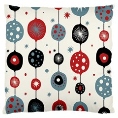 Retro Ornament Pattern Large Cushion Case (one Side)