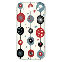 Retro Ornament Pattern Samsung Galaxy S3 S Iii Classic Hardshell Back Case by Nexatart