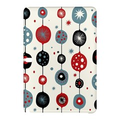 Retro Ornament Pattern Samsung Galaxy Tab Pro 12 2 Hardshell Case by Nexatart