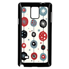 Retro Ornament Pattern Samsung Galaxy Note 4 Case (black)