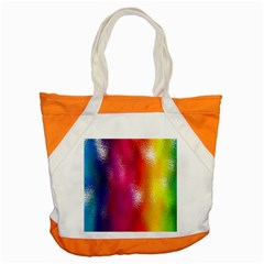 Color Glass Rainbow Green Yellow Gold Pink Purple Red Blue Accent Tote Bag by Mariart