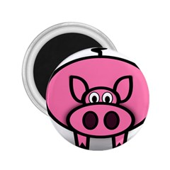 Pork Pig Pink Animals 2 25  Magnets by Mariart