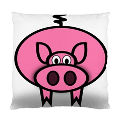 Pork Pig Pink Animals Standard Cushion Case (one Side) by Mariart