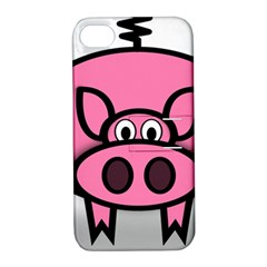 Pork Pig Pink Animals Apple Iphone 4/4s Hardshell Case With Stand by Mariart