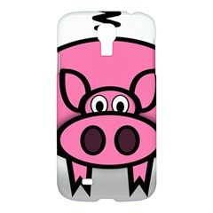 Pork Pig Pink Animals Samsung Galaxy S4 I9500/i9505 Hardshell Case by Mariart