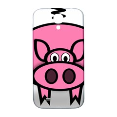 Pork Pig Pink Animals Samsung Galaxy S4 I9500/i9505  Hardshell Back Case by Mariart
