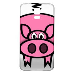 Pork Pig Pink Animals Samsung Galaxy S5 Back Case (white) by Mariart