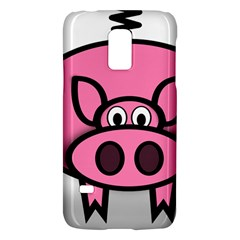 Pork Pig Pink Animals Galaxy S5 Mini by Mariart