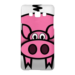 Pork Pig Pink Animals Samsung Galaxy A5 Hardshell Case  by Mariart