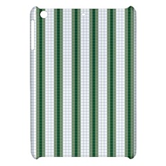 Plaid Line Green Line Vertical Apple Ipad Mini Hardshell Case by Mariart