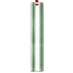 Plaid Line Green Line Vertical Large Book Marks by Mariart