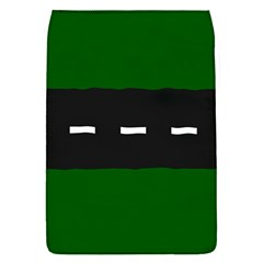 Road Street Green Black White Line Flap Covers (s)  by Mariart