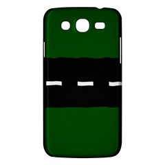 Road Street Green Black White Line Samsung Galaxy Mega 5 8 I9152 Hardshell Case  by Mariart