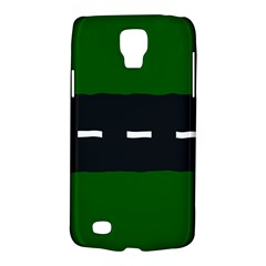 Road Street Green Black White Line Galaxy S4 Active by Mariart