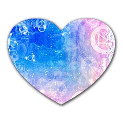 Horoscope Compatibility Love Romance Star Signs Zodiac Heart Mousepads by Mariart