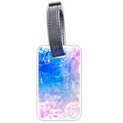 Horoscope Compatibility Love Romance Star Signs Zodiac Luggage Tags (two Sides) by Mariart
