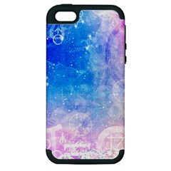 Horoscope Compatibility Love Romance Star Signs Zodiac Apple Iphone 5 Hardshell Case (pc+silicone) by Mariart
