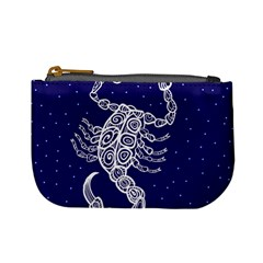 Scorpio Zodiac Star Mini Coin Purses by Mariart