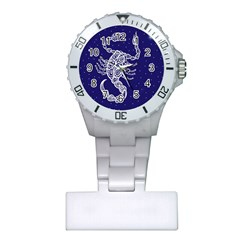 Scorpio Zodiac Star Plastic Nurses Watch by Mariart