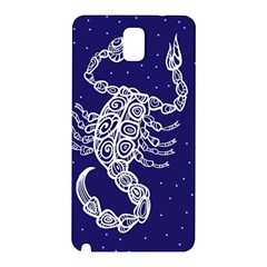 Scorpio Zodiac Star Samsung Galaxy Note 3 N9005 Hardshell Back Case by Mariart