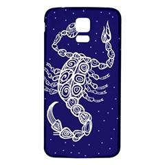 Scorpio Zodiac Star Samsung Galaxy S5 Back Case (white) by Mariart