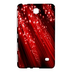 Red Space Line Light Black Polka Samsung Galaxy Tab 4 (8 ) Hardshell Case  by Mariart