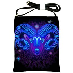 Sign Aries Zodiac Shoulder Sling Bags by Mariart