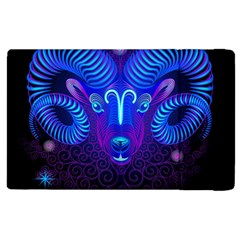 Sign Aries Zodiac Apple Ipad 3/4 Flip Case by Mariart