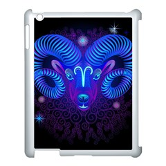 Sign Aries Zodiac Apple Ipad 3/4 Case (white) by Mariart
