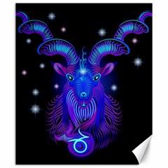 Sign Capricorn Zodiac Canvas 20  X 24   by Mariart