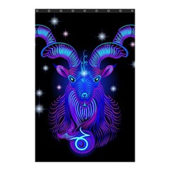 Sign Capricorn Zodiac Shower Curtain 48  X 72  (small)  by Mariart