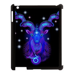 Sign Capricorn Zodiac Apple Ipad 3/4 Case (black) by Mariart