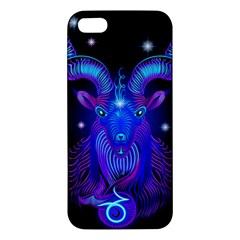 Sign Capricorn Zodiac Apple Iphone 5 Premium Hardshell Case by Mariart