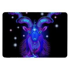 Sign Capricorn Zodiac Samsung Galaxy Tab 8 9  P7300 Flip Case by Mariart