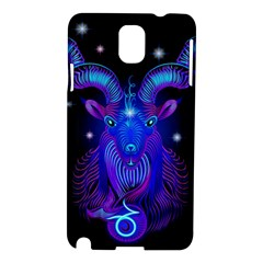 Sign Capricorn Zodiac Samsung Galaxy Note 3 N9005 Hardshell Case by Mariart