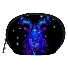 Sign Capricorn Zodiac Accessory Pouches (medium)  by Mariart