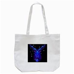 Sign Capricorn Zodiac Tote Bag (white) by Mariart