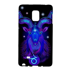 Sign Capricorn Zodiac Galaxy Note Edge by Mariart