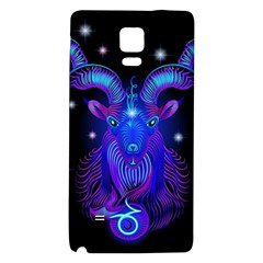 Sign Capricorn Zodiac Galaxy Note 4 Back Case by Mariart