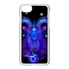 Sign Capricorn Zodiac Apple Iphone 7 Seamless Case (white) by Mariart