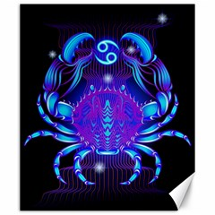 Sign Cancer Zodiac Canvas 20  X 24   by Mariart