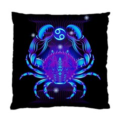Sign Cancer Zodiac Standard Cushion Case (two Sides) by Mariart