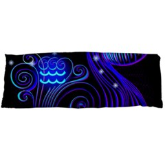 Sign Aquarius Zodiac Body Pillow Case (dakimakura) by Mariart