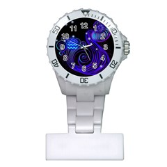 Sign Aquarius Zodiac Plastic Nurses Watch by Mariart