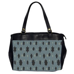 Star Space Black Grey Blue Sky Office Handbags (2 Sides)  by Mariart