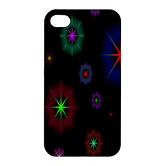 Star Space Galaxy Rainboiw Circle Wave Chevron Apple Iphone 4/4s Hardshell Case by Mariart