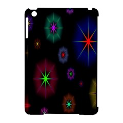 Star Space Galaxy Rainboiw Circle Wave Chevron Apple Ipad Mini Hardshell Case (compatible With Smart Cover) by Mariart