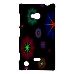 Star Space Galaxy Rainboiw Circle Wave Chevron Nokia Lumia 720 by Mariart