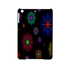 Star Space Galaxy Rainboiw Circle Wave Chevron Ipad Mini 2 Hardshell Cases by Mariart