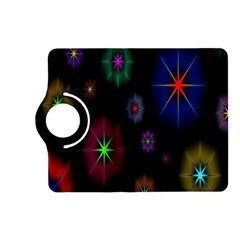 Star Space Galaxy Rainboiw Circle Wave Chevron Kindle Fire Hd (2013) Flip 360 Case by Mariart